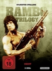 RAMBO - TRILOGY - UNCUT [3 DVDS] - DVD - Action
