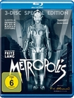 METROPOLIS [3 BRS] [SE] - BLU-RAY - Science Fiction
