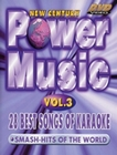 KARAOKE - POWER MUSIC VOL. 3 - DVD - Musik