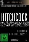 Alfred Hitchcock - Der Mann, der zuviel wusste (DVD)