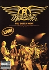 AEROSMITH - YOU GOTTA MOVE (+ CD) - DVD - Musik