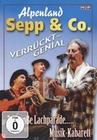 ALPENLAND SEPP & CO. - VERRÜCKT-GENIAL/LIVE - DVD - Musik