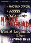 METAL LEGENDS LIVE [3 DVDS] (+ CD)