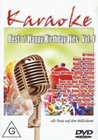 KARAOKE - BEST OF HAPPY BIRTHDAY HITS VOL. 1 - DVD - Musik