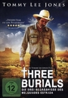 THREE BURIALS - DVD - Western