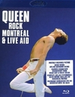 QUEEN - ROCK MONTREAL & LIVE AID - BLU-RAY - Musik