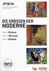 DIE GROSSEN DER MODERNE: PICASSO/BONNARD/MATISSE - DVD - Kunst