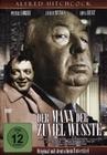 DER MANN, DER ZUVIEL WUSSTE (OMU) - DVD - Thriller & Krimi