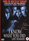 I KNOW WHAT YOU DID LAST SUMM. - DVD - Horror