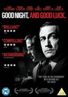 GOODNIGHT AND GOOD LUCK - DVD - Drama