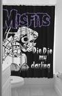 DUSCHVORHANG - MISFITS DIE DIE MY DARLING