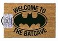 DC COMICS FUSSMATTE - WELCOME TO THE BATCAVE
