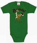 BABYBODY - DISNEY - BAMBI - GRÜN - Babybodies - Logoshirt
