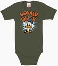 BABYBODY - DISNEY - DONALD DUCK - OLIVGRÜN - Babybodies - Logoshirt