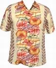 KALAKAUA - ORIGINAL HAWAIIHEMD - ANTHURIUM - BEIGE - Shirts - Hawaii Hemden