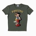 LOGOSHIRT - PINOCCHIO SHIRT - OLIVE - Shirts - Logoshirt - Men