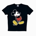 LOGOSHIRT - MICKEY MOUSE SHIRT CLASSIC - BLACK - Shirts - Logoshirt - Men