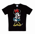 LOGOSHIRT - MINNIE MOUSE SHIRT CLASSIC - BLACK - Shirts - Logoshirt - Men