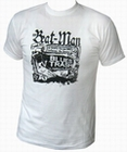 BEAT-MAN - BLUES TRASH - MEN-SHIRT - WEISS