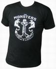 1 x THE MONSTERS - HURT - MEN-SHIRT