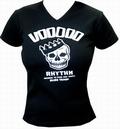 2 x VOODOO RHYTHM GIRLIE-SHIRT