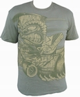 1 x DAVID VICENTE - VINTAGE T-SHIRT - TIKI-RODDER