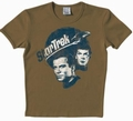 LOGOSHIRT - STAR TREK SHIRT  - PLANET SANDY - BROWN - Shirts - Logoshirt - Men