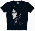 LOGOSHIRT - ELVIS SHIRT  - POTRAIT - BLACK - Shirts - Logoshirt - Men