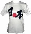 JAPAN SHIRT  WEISS ZEICHEN - Shirts - Japan