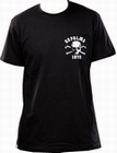 1 x DEPALMA - SKULL AND BONES - SHIRT - BLACK