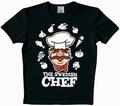 LOGOSHIRT - MUPPETS - SWEDISH CHEF SHIRT - SCHWARZ - Shirts - Logoshirt - Men