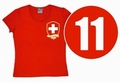 LOGOSHIRT - TEAM SCHWEIZ  - GIRL SHIRT - Shirts - Logoshirt - Girls