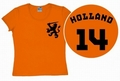 LOGOSHIRT - TEAM HOLLAND - GIRL SHIRT - Shirts - Logoshirt - Girls