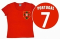 LOGOSHIRT - TEAM PORTUGAL - GIRL SHIRT