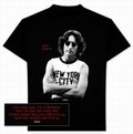 JOHN LENNON - SHIRT - NEW YORK PHOTO - Shirts - Band Shirts - Men