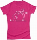 LA LINEA GIRL SHIRT - PEEKABOO - Shirts - Comics - Girls