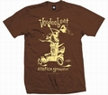 EXOTICA GROOVIN HOT ROD -MEN SHIRT - BROWN