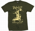 1 x EXOTICA GROOVIN HOT ROD -MEN SHIRT - OLIVE