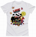 BEATLES GIRL SHIRT - LOVE - Shirts - Band Shirts - Girls