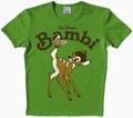 LOGOSHIRT - BAMBI SHIRT - GRÜN - VINTAGE - Shirts - Logoshirt - Men