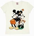 LOGOSHIRT - MINNIE UND MICKY MAUS GIRL SHIRT - Shirts - Logoshirt - Girls