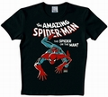 LOGOSHIRT - SPIDERMAN SHIRT - MARVEL - SCHWARZ - Shirts - Logoshirt - Men