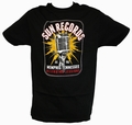 1 x ELECTRIC MIC SUN RECORDS - STEADY CLOTHING T-SHIRT