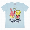 LOGOSHIRT - SPONGEBOB IT FEELS NICE SHIRT - HELLBLAU