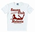 LOGOSHIRT - SAUNA CLUB MELANIE WEIß - SHIRT - Shirts - Club Shirts