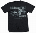 MUSTANG 1969 - MEN SHIRT SCHWARZ - Shirts - Voodoobeat - Men