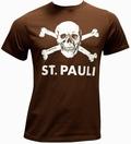 ST. PAULI SHIRT - BRAUN - Shirts