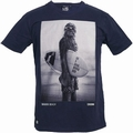 STAR WARS SHIRT - CHUNK - WOOKIE SURFER CHEWBACCA - NAVY - Shirts - Chunk - Men