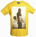 STAR WARS SHIRT - CHUNK - WOOKIE SURFER - YELLOW - Shirts - Chunk - Men