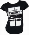 1 x TOXICO - MUSTANG - GIRL SHIRT - SCHWARZ